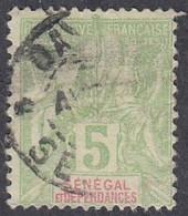 Senegal, Scott #39, Used, Navigation And Commerce, Issued 1892 - Oblitérés