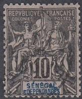 Senegal, Scott #40, Used, Navigation And Commerce, Issued 1892 - Oblitérés