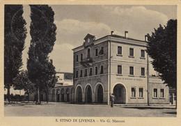 Veneto - Venezia - S. Stino Di Livenza - Via G. Marconi - F. Grande - Viagg - Bella Animata - Opaca - Other Cities