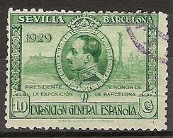 España U 0437 (o) Expo Sevilla Y Barcelona. 1929 - Oblitérés