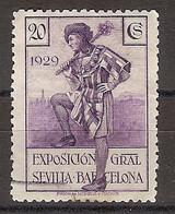 España U 0439 (o) Expo Sevilla Y Barcelona. 1929 - Oblitérés