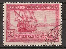 España U 0440 (o) Expo Sevilla Y Barcelona. 1929 - Oblitérés