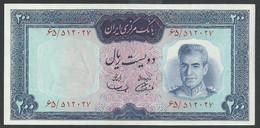 IRAN. 200 RIALS. ND(1969). SHAH PALAVI TYPE VII. Pick 87a. SIGN.11. UNC / NEUF - Iran