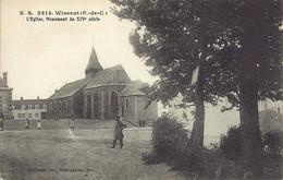 WISSANT - L'Eglise, Monument Du XVI Siècle - E.S 2214 - Wissant