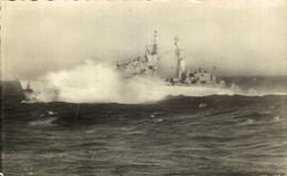 Hr Ms Kruiser De Ruiter In De Storm    MILITARY SHIPS NAVIRES MILITAIRES BATEAUX BARCOS DE GUERRA WAR - Guerra