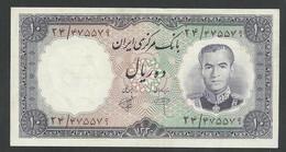 IRAN. 10 RIALS. ND(1961). SHAH PALAVI TYPE V. Pick 71. SIGN.7. UNC / NEUF - Iran