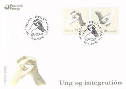 Faroe Islands FDC 2006 Europa CEPT (DD29-4) - 2006