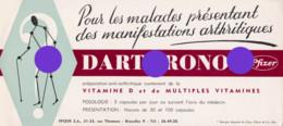 BUVARD Pharmacie  Médical  Darthronol Anti-Arthritique Laboratoires PFIZER à Jette Bruxelles Rue Thomaes - Chemist's