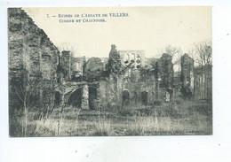 Villers La Ville Ruines De L'Abbaye De Villers Cuisine Et Chauffoir - Villers-la-Ville