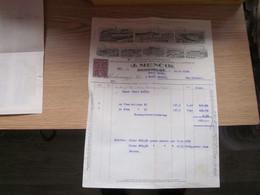 Hohenelbe Vrchlabi J Mencik Baumwoll Spinnereien Mechanische Webereien Bleiche Farberei Und Appretur 1 Kruna Stamps - Other