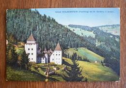 D007 Selva Schloss Wolkenstein Fischburg Bei St. Christina In Groden - Andere Städte