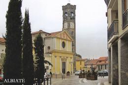 (QU563) - ALBIATE (Monza E Brianza) - Piazza Conciliazione E Parrocchia Di San Giovanni Evangelista - Monza