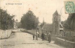 SAINT MANVIEU L'église - Other Municipalities