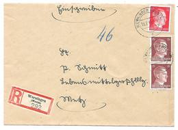 Moselle (Verny) -  329 WERNINGEN (WESTM) A - LR - 19.7.1944 - 1921-1960: Période Moderne