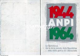 TESSERA ANPI 1964   BUONO STATO DI CONSERVAZIONE IF9748 - Documenti Storici