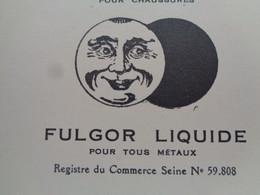 FACTURE - Dpt DE LA SEINE - PARIS 10ème - 1926 - STE DES CIRAGES FRANCAIS - CREME ECLIPSE - 11 RUE BEAUREPAIRE - Unclassified