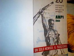 TESSERA PARTIGIANI ANPI 1963 IF9752 - Documenti Storici