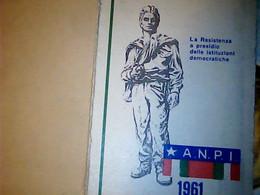 TESSERA PARTIGIANI ANPI 1961 IF9753 - Documenti Storici