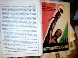 TESSERA PARTITO COMUNISTA ITALIANO 1948 IF9754 - Documenti Storici