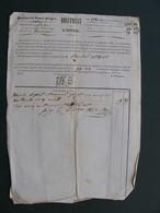 1842 1845 Province De SAVOIE PROPRE Lettre Et Papier Diguement De L'Isère Albertville Tournon - Documenti Storici