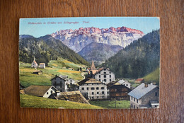 D027 Selva Wolkenstein In Groden Mit Sellagruppe Tirol - Andere Städte