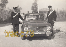 """CARABINIERI /  L'Alfa Romeo Giulia """"Pronto Intervento"""" - Pescara 1966 _  Foto Formato 15 X 10,5 Cm - Cars"""