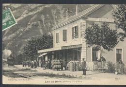 LA GARE. TRAIN. TONNEAUX - Luc-en-Diois
