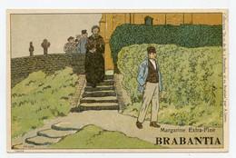 Lynen, Amédée-Ernest,publicité,margarine Extra-fine Brabantia Collection De-ci De-là à Bruxelles ( N°100 ) - Autres Illustrateurs