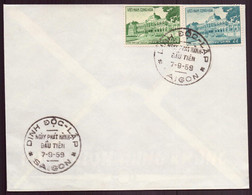 Vietnam, FDC Enveloppe Du 7 Septembre 1959 à Saïgon - Vietnam