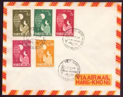 Vietnam, FDC Enveloppe Du 27 Septembre 1958 à Saïgon - Vietnam