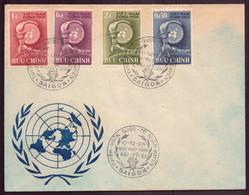 Vietnam, FDC Enveloppe Du 10 Décembre 1958 à Saïgon - Vietnam