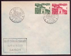 Vietnam, FDC Enveloppe Du 16 Février 1959 à Saïgon - Vietnam