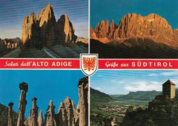 1 AK Italien * Grüße Aus Südtirol - Mehrbildkarte * - Andere Städte
