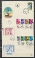 Israël Lot De 3 Belles Enveloppes - FDC