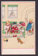 Illustration - Children On Bench - LD / Meissner&Buch, Serie 2301 / Postcard Not Circulated - Autres Illustrateurs
