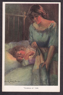 Alfred James Dewey - Tucking In Time / Reinthal & Newman Nr. 450 / Postcard Not Circulated - Autres Illustrateurs