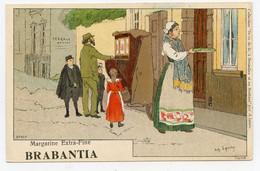 Lynen, Amédée-Ernest,publicité,margarine Extra-fine Brabantia Collection De-ci De-là à Bruxelles (N°109 ) Orgue Barbarie - Autres Illustrateurs
