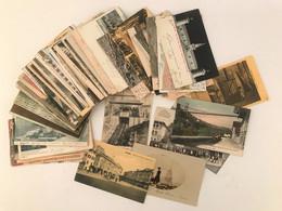 Italia, Gruppo Di Circa 90 Cartoline Formato Piccolo, Quasi Tutte Viaggiate. (principalmente Paesaggistiche, Anche Di Pi - Collections