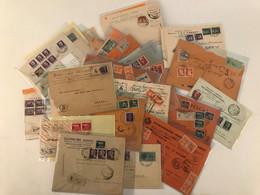 Accumulo Di Circa 1000 Lettere Del Periodo Luogotenenza/R.S.I./Repubblica/ Cartoline Formato Piccolo/ Regno. Molto Inter - Collections