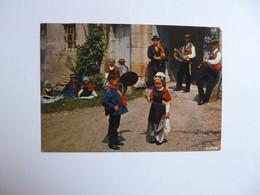 FOLKLORE  -  GANNAT  -  63  -  La Bourrée Gannatoise  -  Puy De Dôme - Bailes