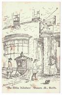 Marie BYNG-JOHNSON - The Little Kitchen, Queen St., Bath - Autres Illustrateurs