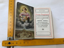 LIBRO PRIME PREGHIERE SANTA MESSA DON.G.CAIRONI BERGAMO 1953. - Religione