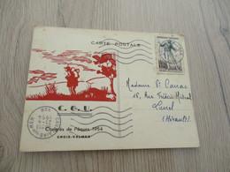 CPA  Scoutisme à Vérifier Illustrée Congrès De Pâques 1954 C.G.U. - Scouting