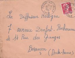LETTRE DE FOSSE NOUVELLE CHER 1956 - 1921-1960: Modern Period