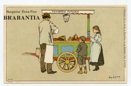 Lynen, Amédée-Ernest,publicité,margarine Extra-fine Brabantia Collection De-ci De-là à Bruxelles (N°65)marchand De Glace - Autres Illustrateurs