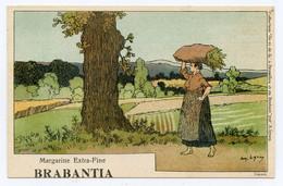 Lynen, Amédée-Ernest,publicité,margarine Extra-fine Brabantia Collection De-ci De-là à Bruxelles (N°117 ) La Moisson - Autres Illustrateurs