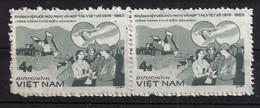 Vietnam 1385 Waag. Paar ** - Vietnam