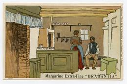 Lynen, Amédée-Ernest,publicité,margarine Extra-fine Brabantia Collection De-ci De-là à Bruxelles (N°66 ) Café,bistrot - Autres Illustrateurs
