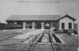 NOUVION Sur  MEUSE-- LUMES  - TRIAGE - -HALL De REPARATIONS - Altri Comuni