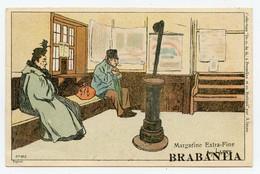 Lynen, Amédée-Ernest,publicité,margarine Extra-fine Brabantia Collection De-ci De-là à Bruxelles (N°102) La Gare - Autres Illustrateurs